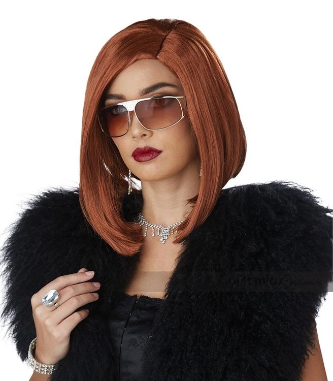 Lady Boss Brun Peruk