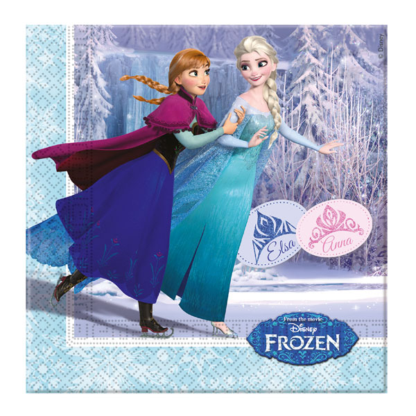 Disney Frozen Frost Ice servetter 20-pack