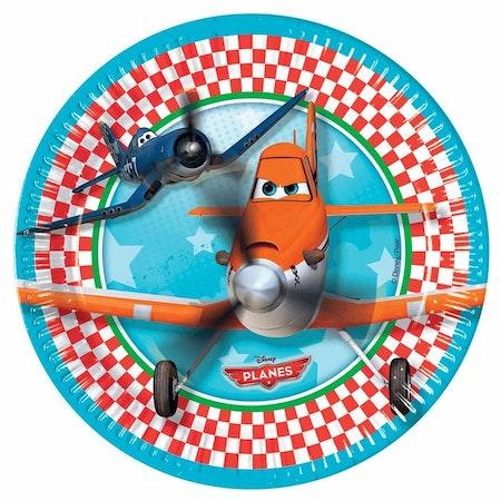 Disney Planes Flyplan tallrikar 8-pack