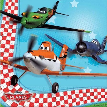 Flygplan servetter 20-pack