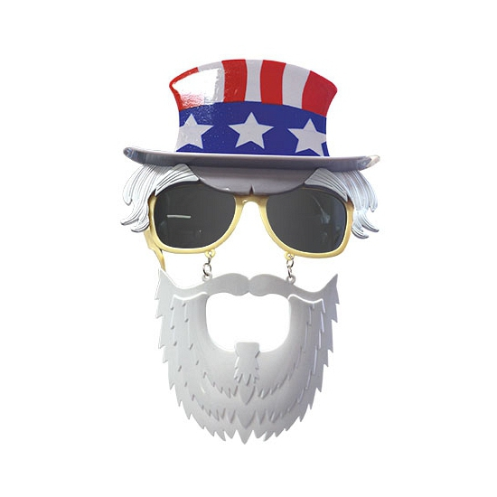 Uncle Sam ansiktsmask