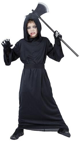 Reaper kåpa med huva och bälte Maskeraddräkt Halloween