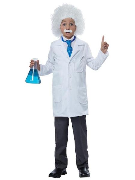 Albert Einstein barn Maskeraddräkt