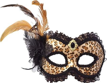 Leopard ögonmask