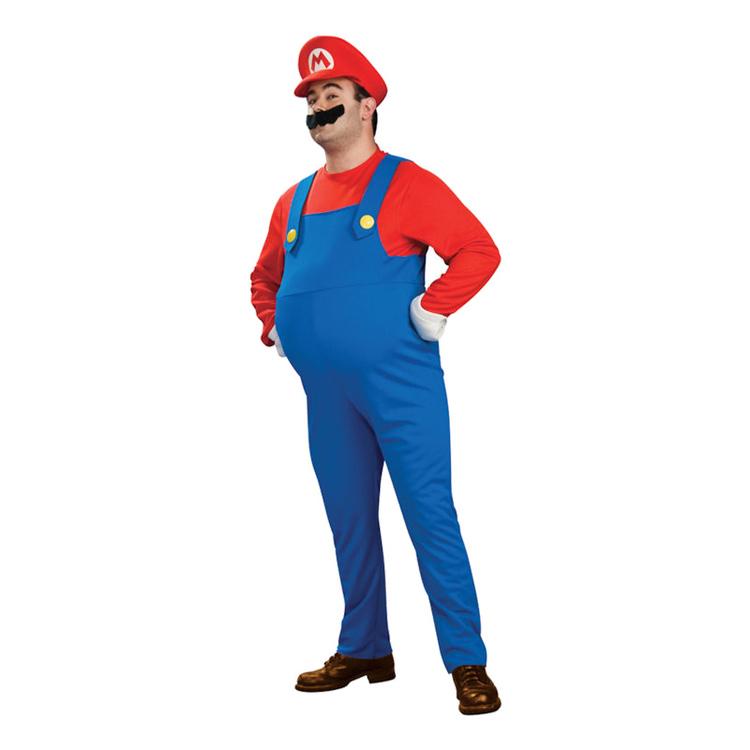 Super Mario Deluxe Maskeraddräkt