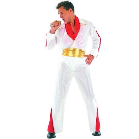 Elvis med Guldbälte Maskeraddräkt