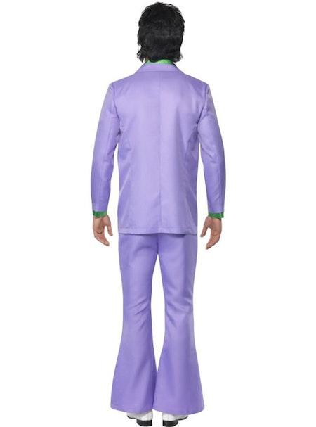70-tals kostym hjärtekrossare Deluxe Maskeraddräkt