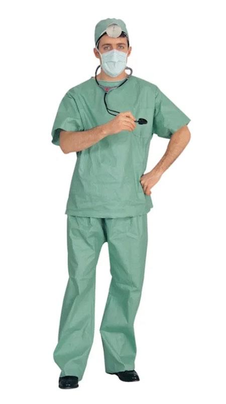Doktor med stetoskop Maskeraddräkt Halloween