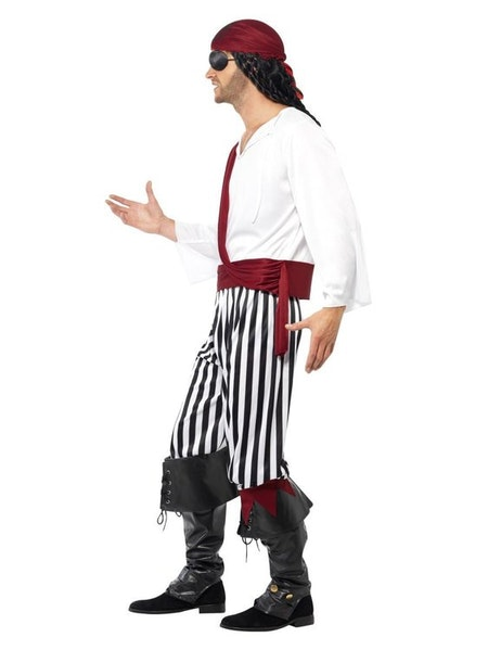 Piratman Maskeraddräkt