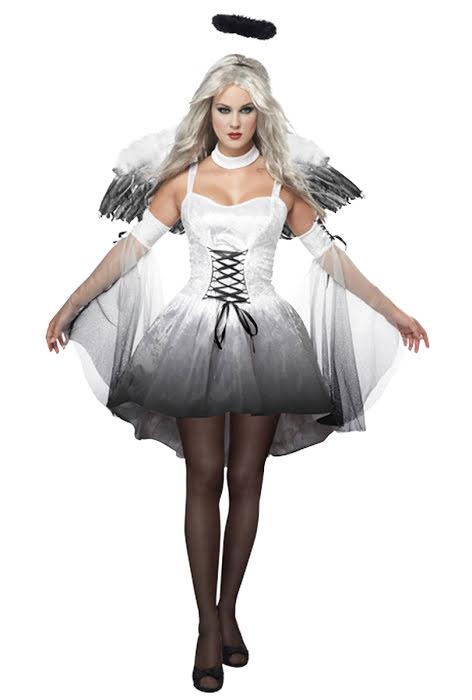 Dödens ängel Maskeraddräkt Halloween