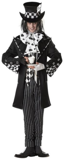 Dark Mad Hatter Maskeraddräkt Halloween
