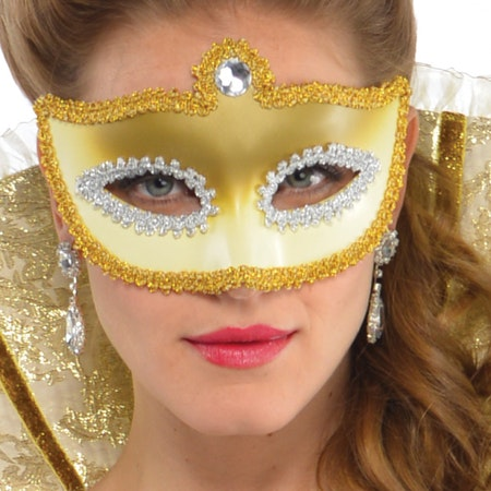 1800-tal sexig klänning Venezia Maskeraddräkt
