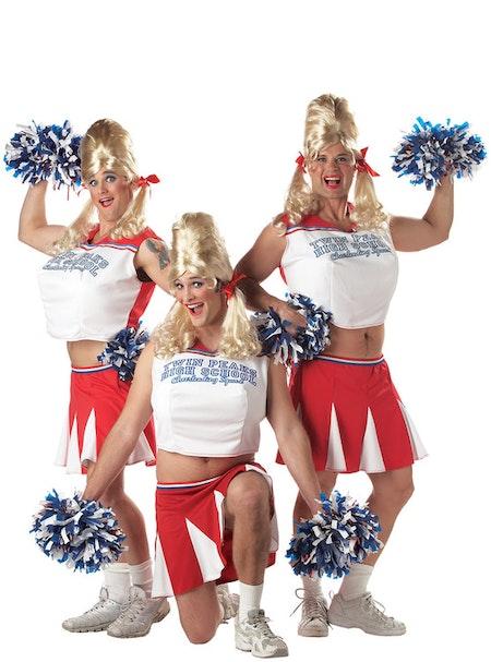 Cheerleader highschool Maskeraddräkt