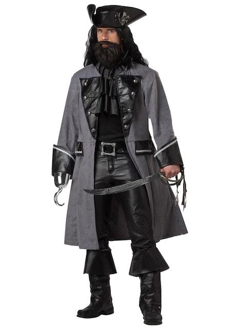 Pirat Svartskägg Maskeraddräkt