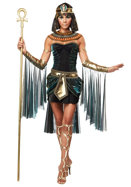 Egyptisk Gudinna Deluxe Maskeraddräkt