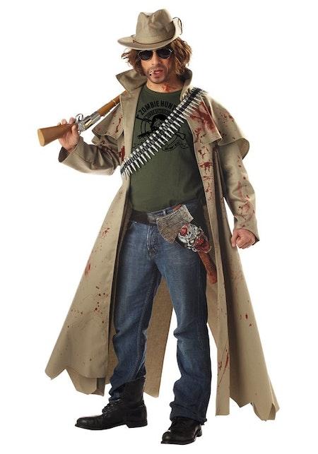 Zombie Hunter Jägare Maskeradkläder