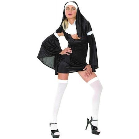 Sexig nunna Maskeraddräkt