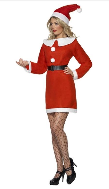 Tomtemor Miss Santa Klänning