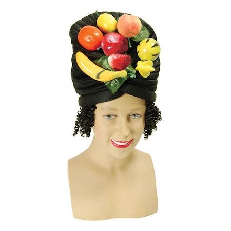 Frukthatt med hår