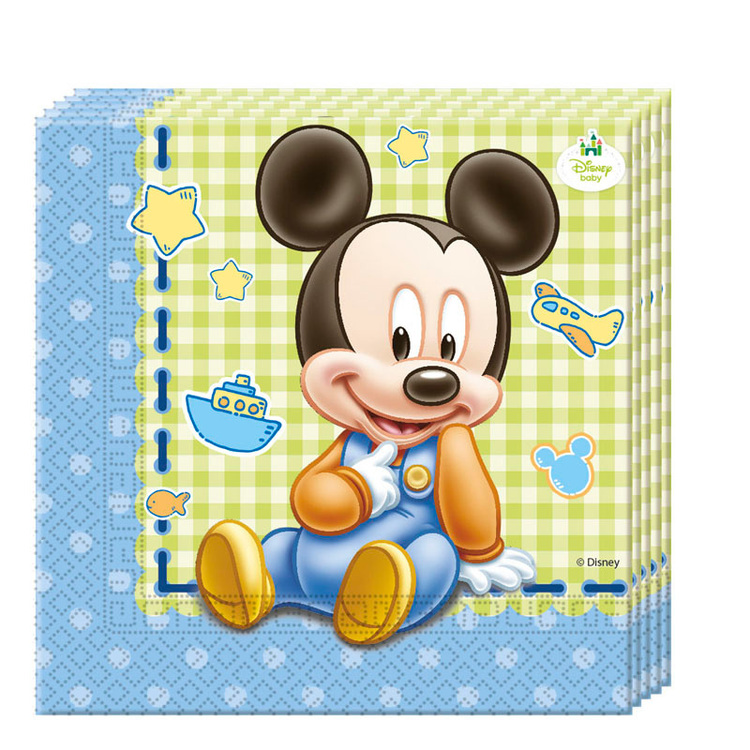 Disney Musse Pigg Mickey Mouse baby servetter