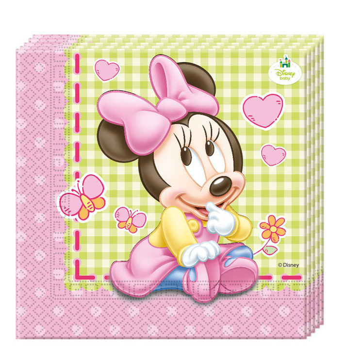 Disney Mimmi Pigg Minnie Mouse servetter 20-pack