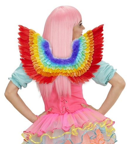 Regnbågsfärgade vingar Pride