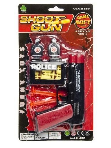 Pistol med skott