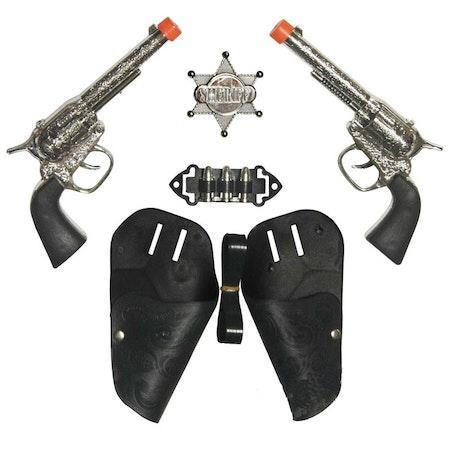 Cowboyset pistoler