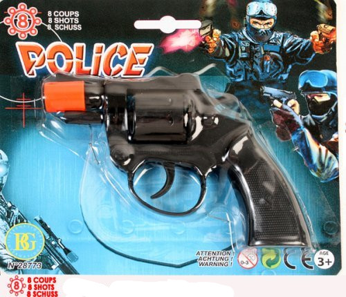 Pistol, 8 skott