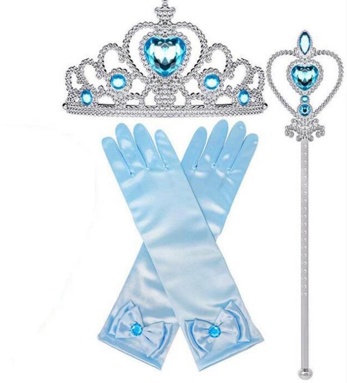 Elsa prinsess tillbehör