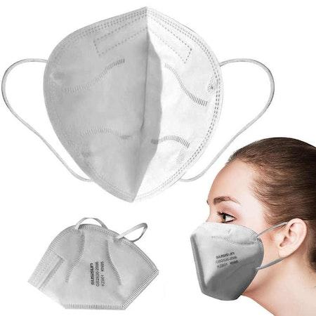 Munskydd / Ansiktsmask KN95 med >95% filtrering FFP2