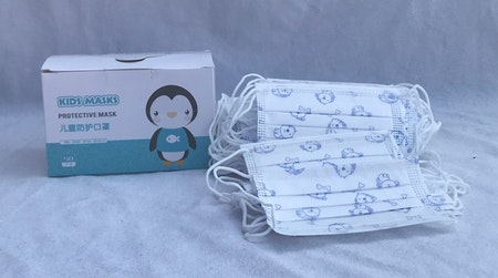 50–pack 3-lager munskydd med fyra olika motiv Barn