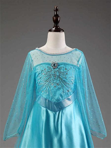 Prinsessklänning Elsa Frost