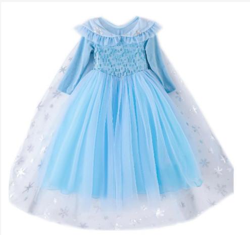 Prinsessklänning snöflinga