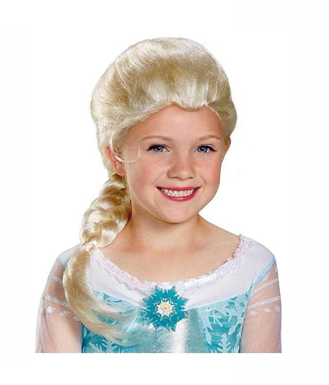 Anna Frozen Peruk för barn