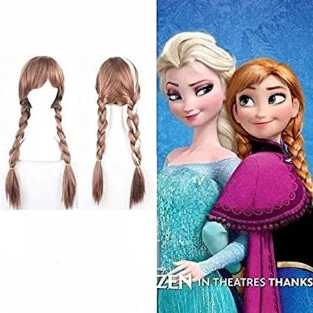Peruk Frozen för barn