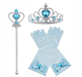 Blått Prinsess set