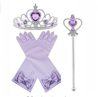 Lila Prinsess set