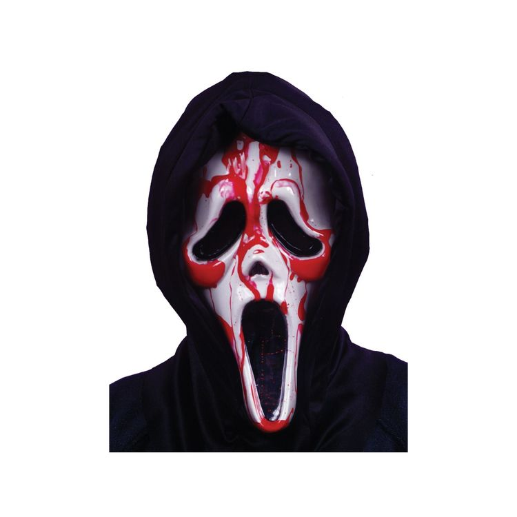 Scream Mask Blodig Maskerad Halloween