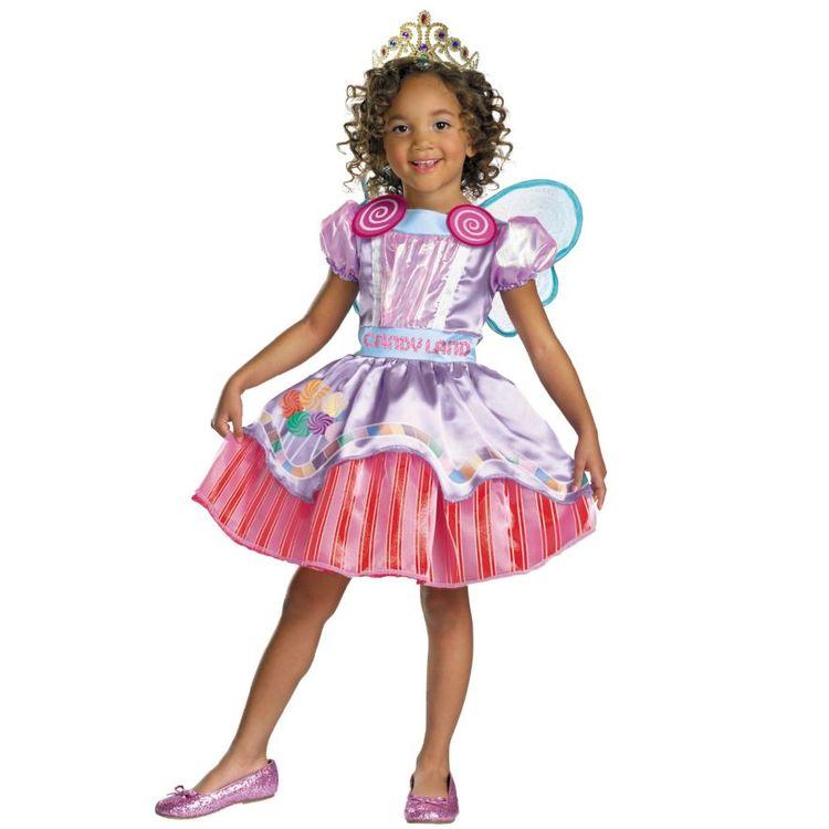 Candy Godisklänning Barn Maskeradkläder