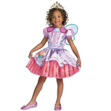 Prinsessklänning Candy Godisklänning Barn Maskeradkläder