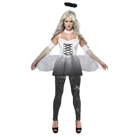 Dödens Ängel Vampyrklänning Maskerad Halloween