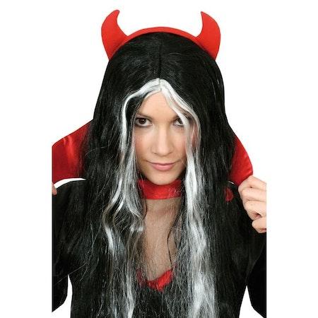 Diadem med Djävulshorn Maskerad Halloween