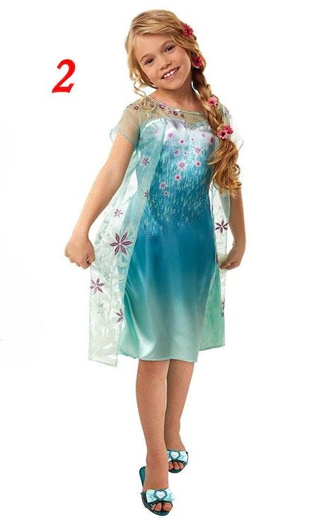 Peruker Elsa, Rapunzel, Anna barn Maskerad