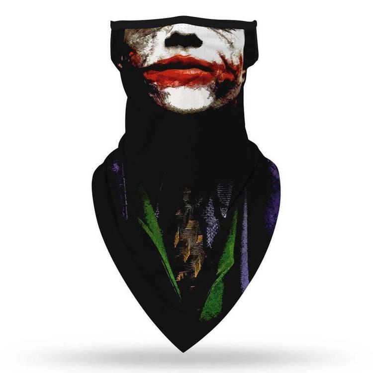 Munskydd Ansiktsscarf Bandanna Baklava Tvättbar Joker