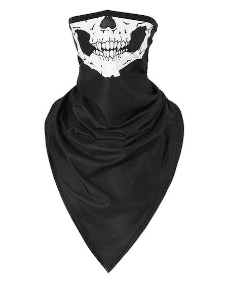 Munskydd Ansiktsscarf Bandana Baklava Tvättbar Skelettmun