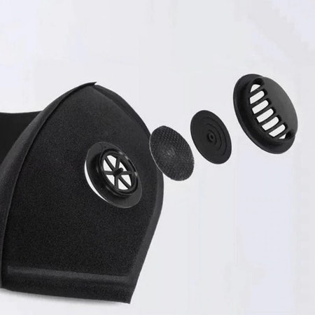 Tvättbart Munskydd / Mask Ventil 5-pack
