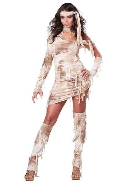 Mystisk mumie Egyptisk Maskeraddräkt Halloween