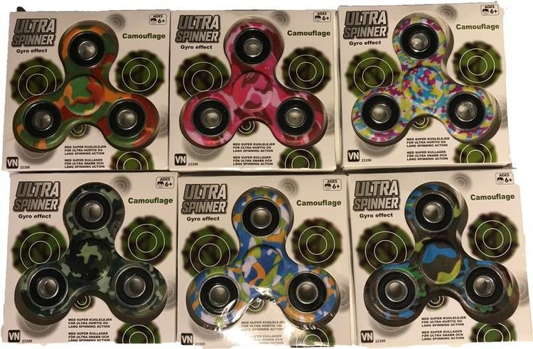 Fidget Spinner Ultra Spinner Gyro Effect Camouflage Army