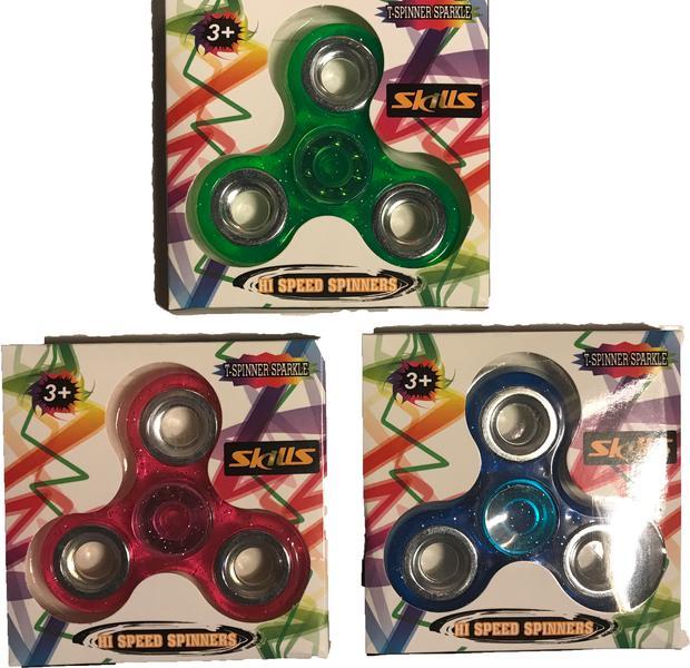 Fidget Spinner T-spinner Sparkle Hi Speed Spinner